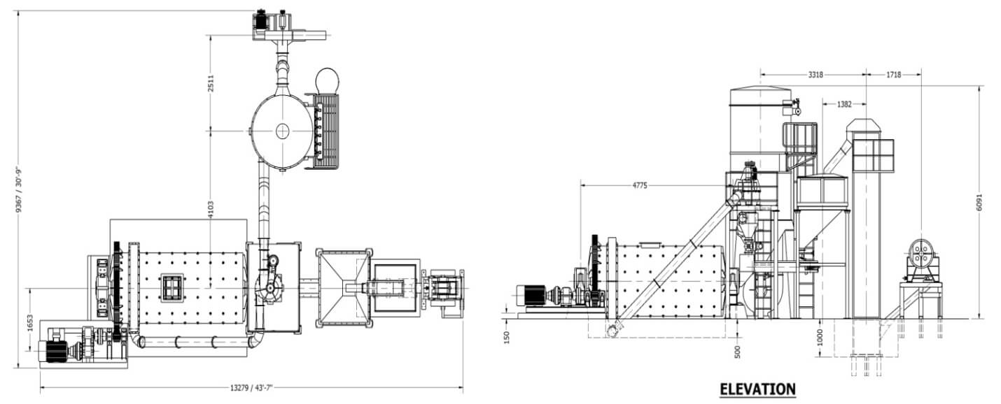 Ball Mill with Micronizing Plant-2