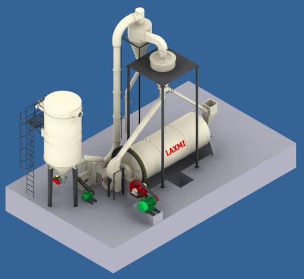 Quartz & Feldspar with Ball Mill Plant